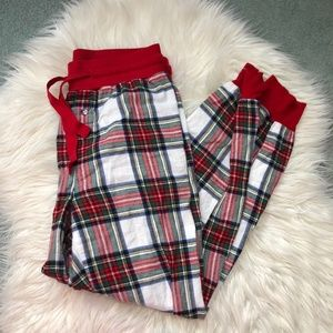 Stars Above plaid pajama pants size XS 0361